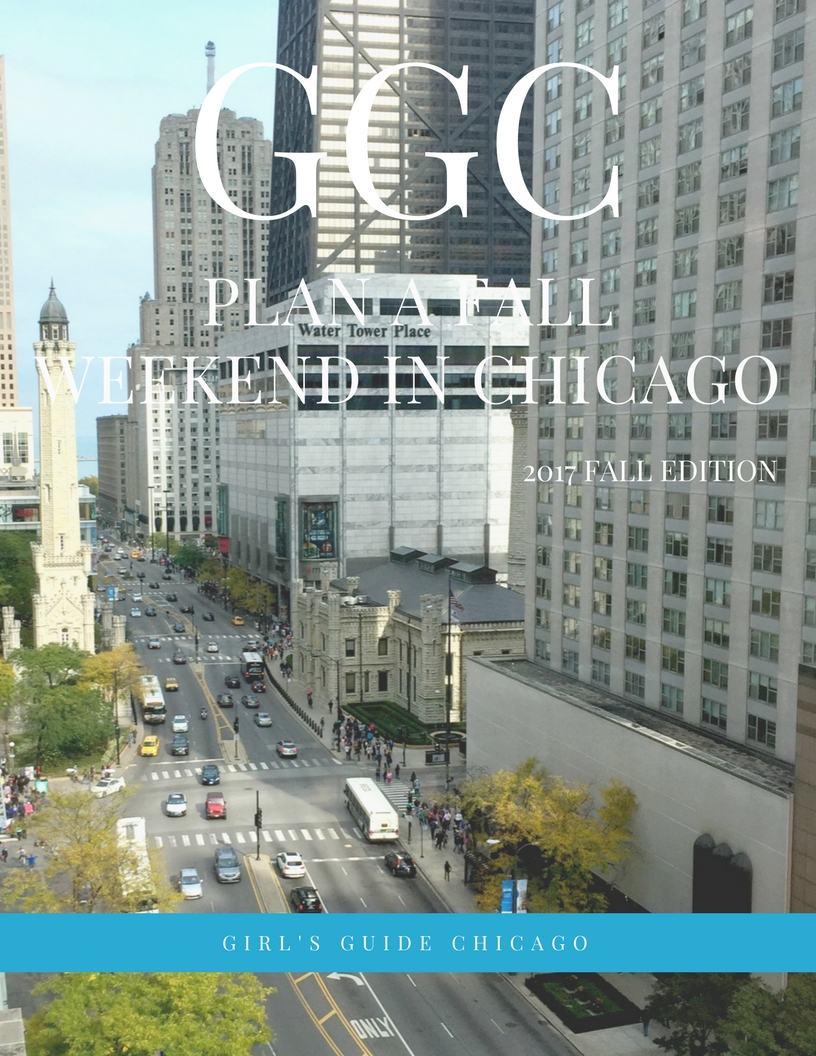 Girl's Guide Chicago ebook Plan a fall weekend in Chicago