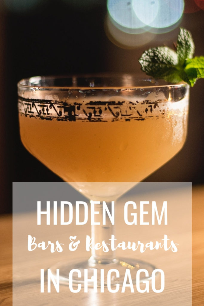 Hidden gem bars and restaurants in Chicago
