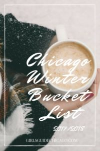 Chicago Winter Bucket List 2017