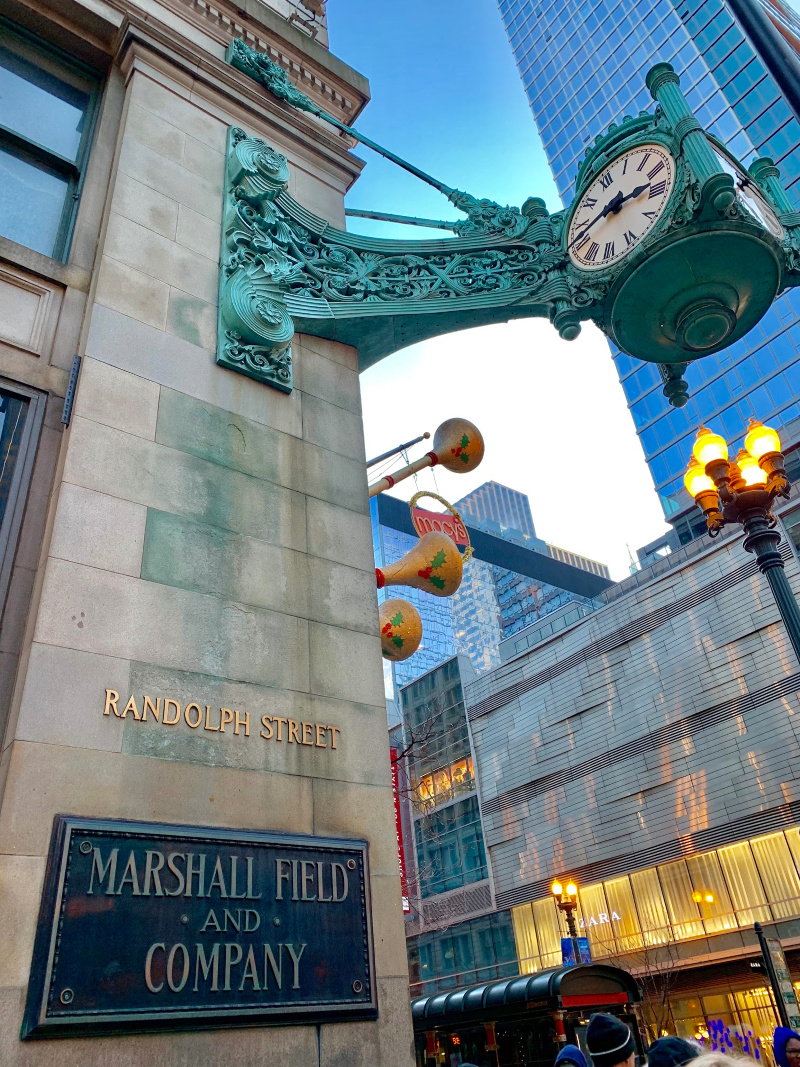 a30aff50a Everything to See and Do at Macy s Marshall Field s on State Street During  the Holidays